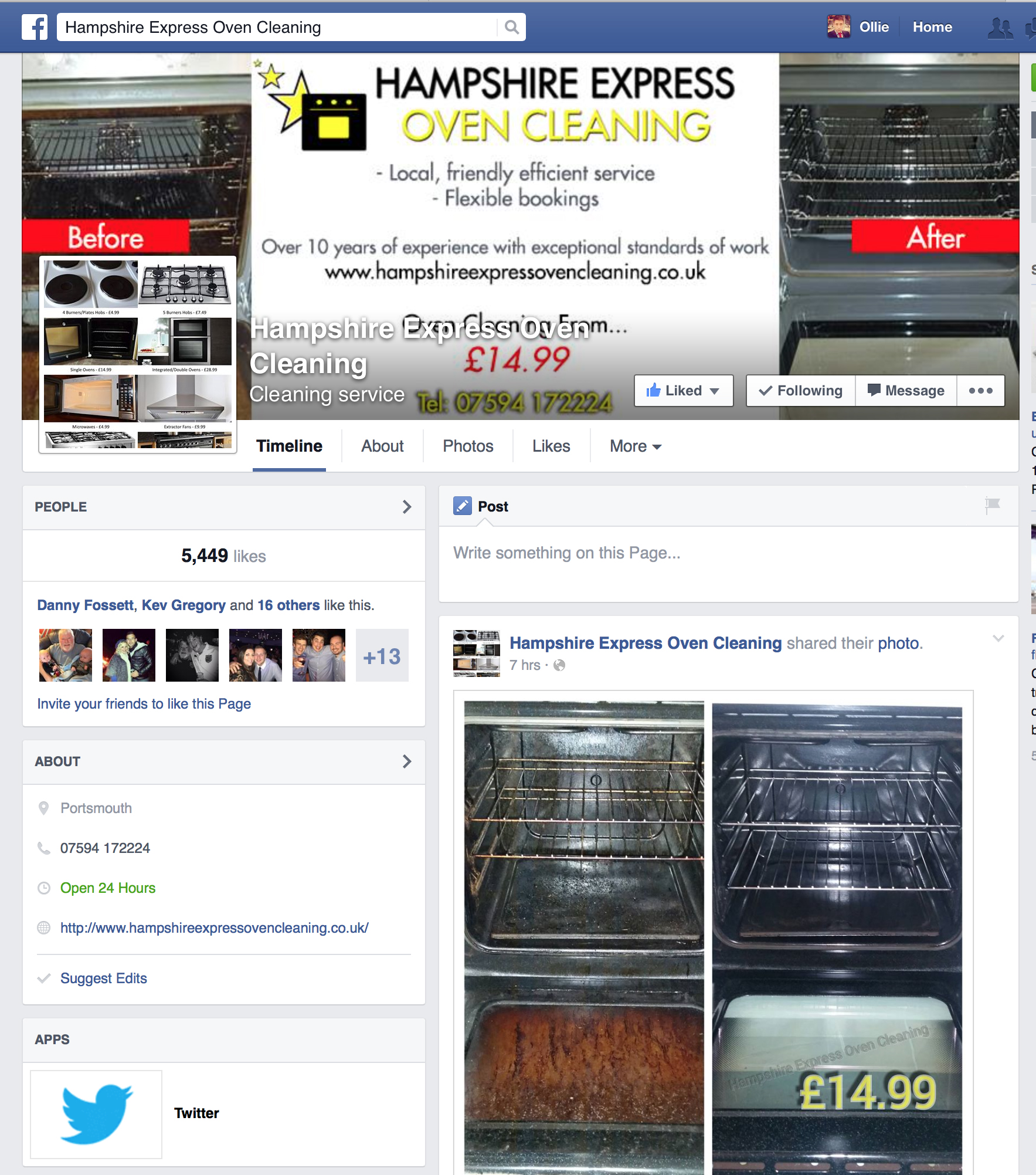 hampshire-express-oven-cleaning-facebook-page