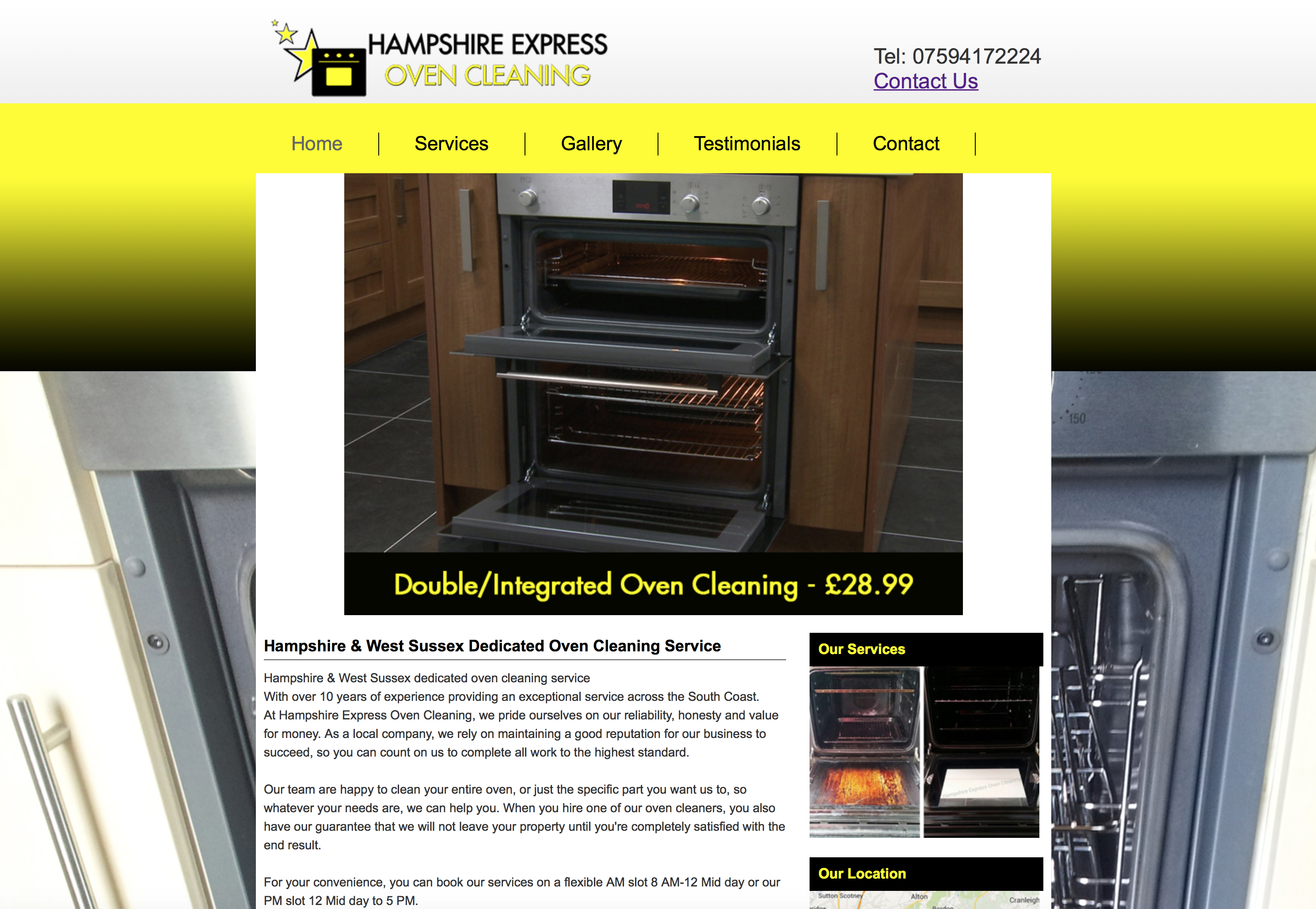 hampshire-express-oven-cleaning-website