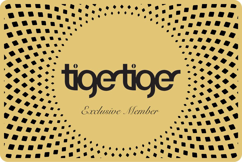Tiger Tiger VIP Card Front